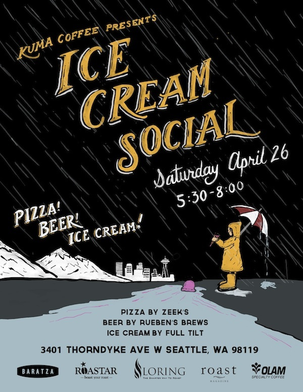 Kuma Coffee Ice Cream Social