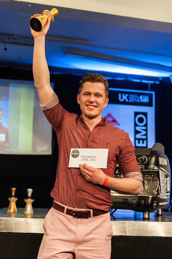 Maxwell Colonna-Dashwood UK Barista Champion