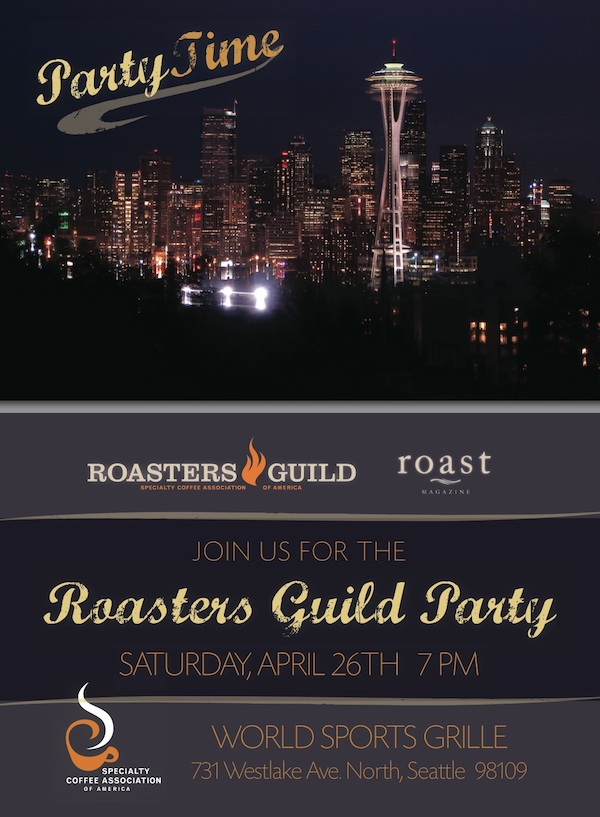Roasters Guild party world sports grill