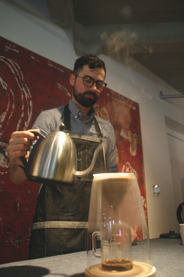 Craighton Berman and the Manual Coffeemaker
