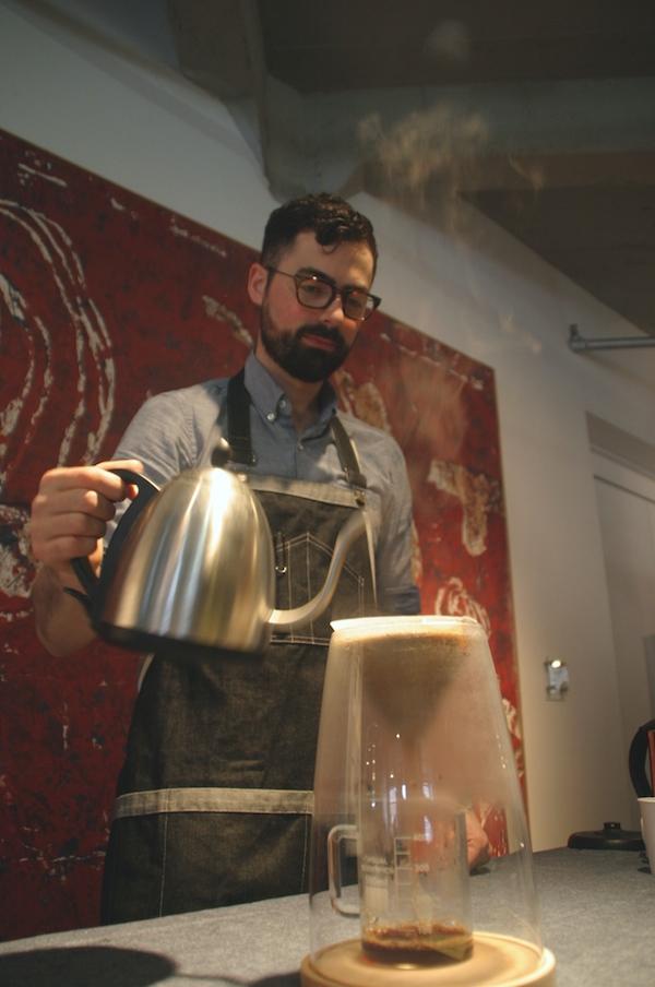 Craighton Berman and the Manual Coffeemaker