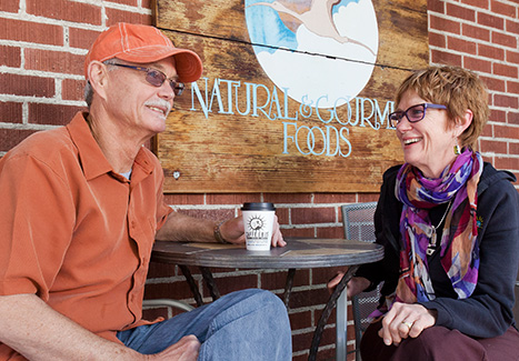 Randy Wirth and Sally Sears