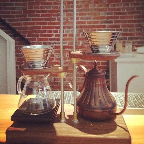 Timbertrain roasters gastown cafe manual brew bar