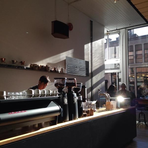 inside interior timbertrain coffee vancouver