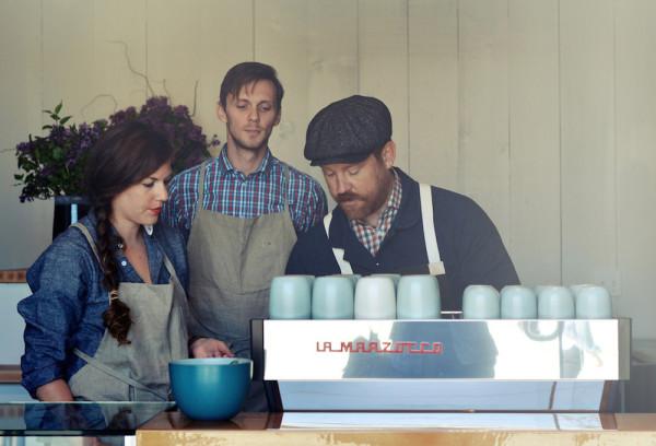 First Look: Tyler Wells' Blacktop Espresso Bar in Los Angeles