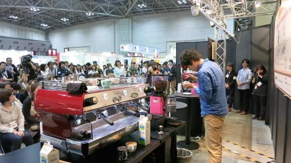 Tokyo latte art championship