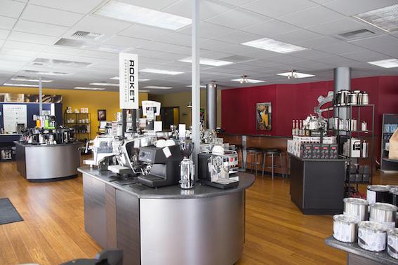 seattle coffee gear inside