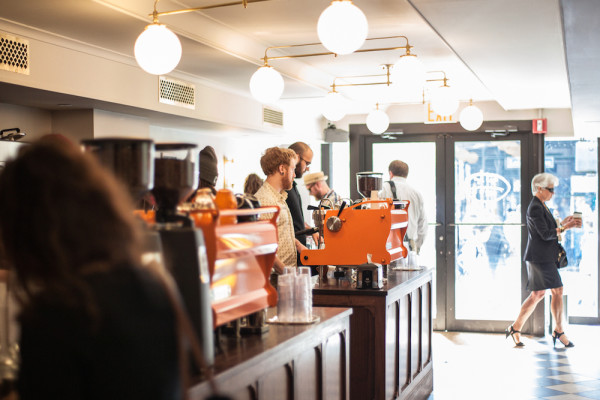 Cafe Grumpy used Square Capital to Help open its Grand Central Station shop. Photo by Alan Gastelum