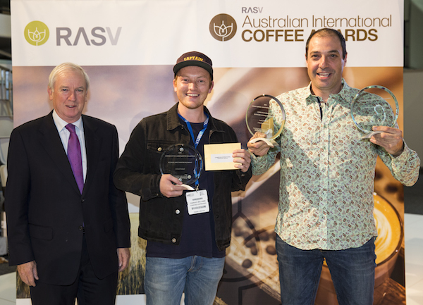 Winners Announced for 2nd Annual Australian International Coffee Awards