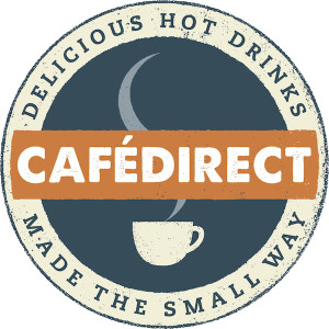 Cafedirect coffee logo UK