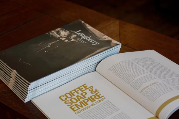 A Look Inside James Hoffmann's New Coffee Narrative Journal, Longberry