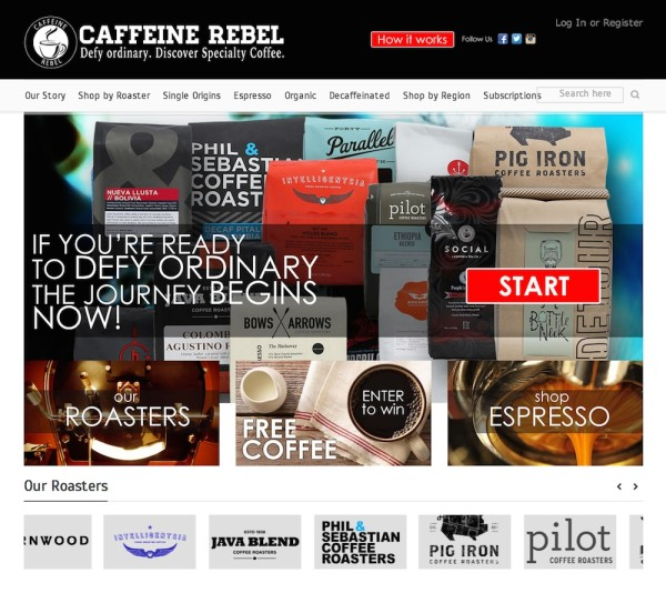 Caffeine Rebel Signs Fundraising Agreement with Coffee Kids