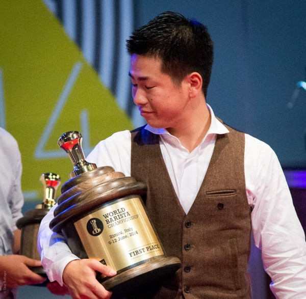 Hidenori_Izaki is the 2014 World Barista Champion.