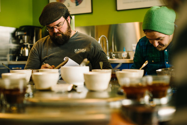 Slurping in Context:  A Look at Intelligentsia's New Cupping Form