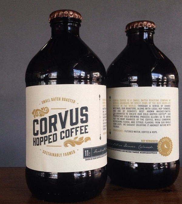 coffee brewed with hops