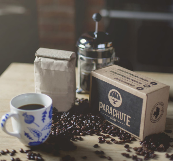 Parachute Coffee Arrives with Airdrops from Canadian Micros