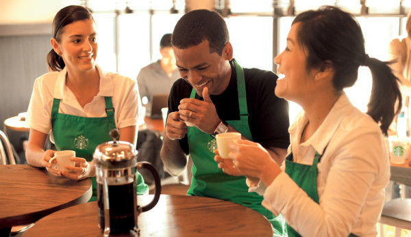 Starbucks baristas achievement plan
