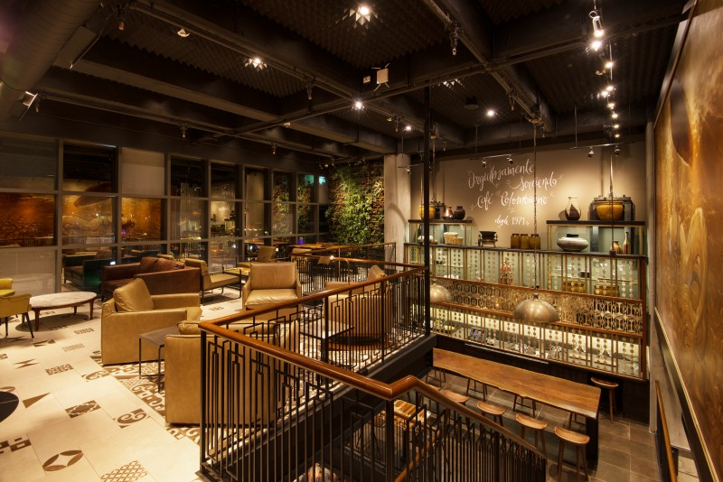 Inside Starbucks Three Story Colombian Flagship Store In