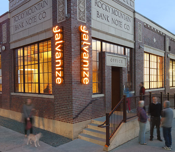 galvanize business incubator