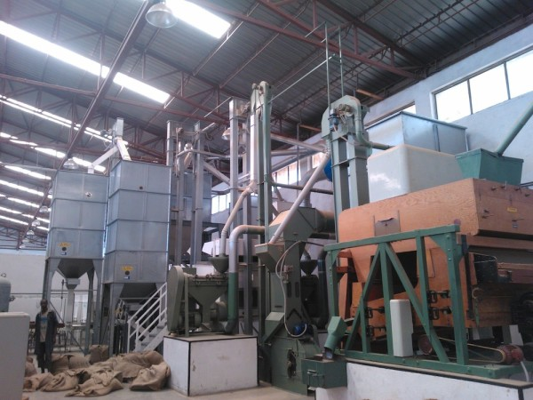 ethiopia coffee husking processing plant