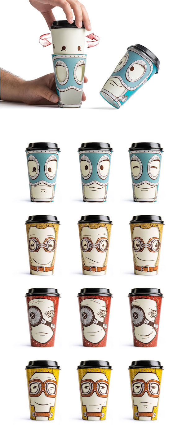 to go cups emoticons