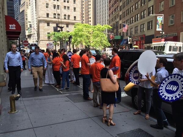 Village Voice Employees Walk Out, Demand Better Coffee