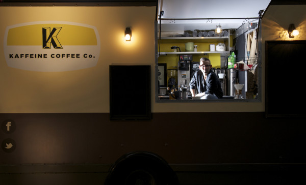 Kaffeine Coffee and Some Big Revitalization in Downtown Indianapolis