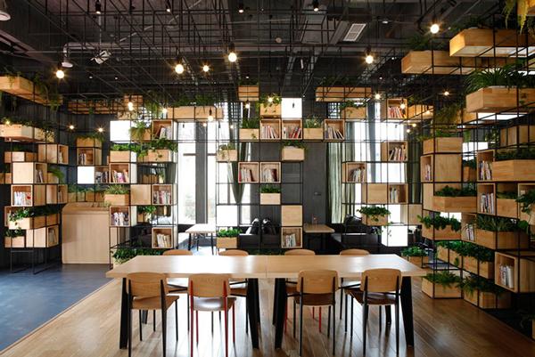 beijing modular cafe plants