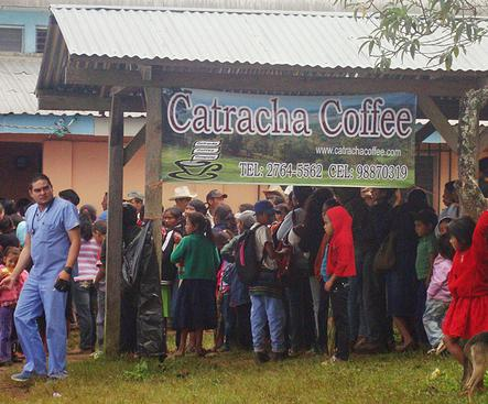 Catracha Coffee Launching Quality Improvement Program in Santa Elena, Honduras