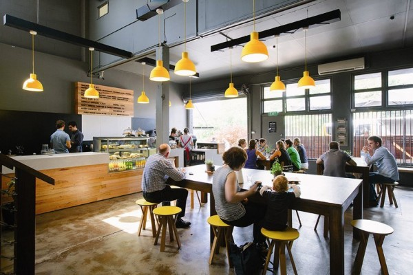 Inside Veneziano's First Pour Cafe in Brisbane