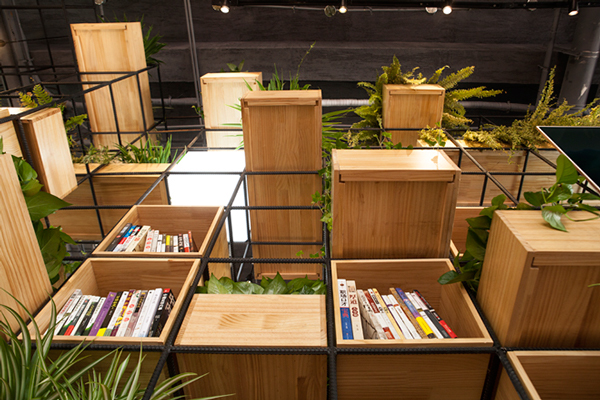 Design Details: The Modular Greenspace Interior at Home Cafe in Beijing