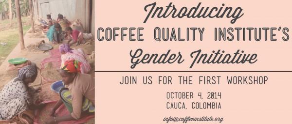 gender initiative CQI