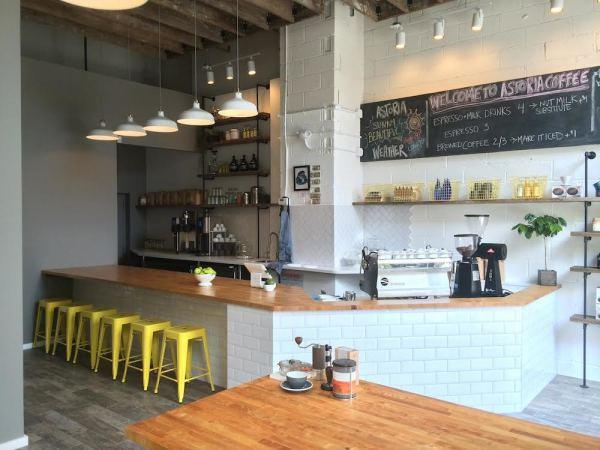 Astoria Coffee inside