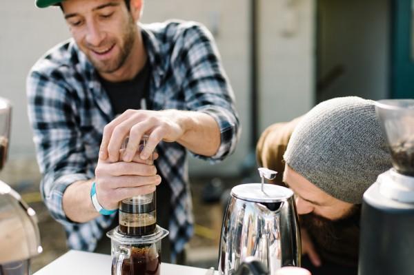 In Denver, A Grand Coffee Bazaar 'Twas, Indeed