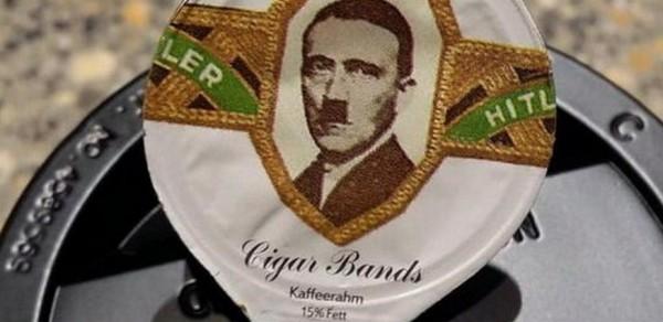 hitler coffee creamer