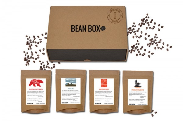 Bean Box and four Seattle Coffees