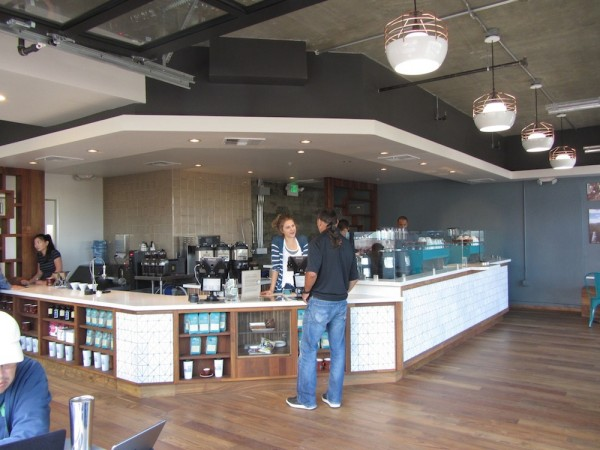 Inside Bird Rock Coffee Roasters' Big New Bar in Little Italy, San Diego