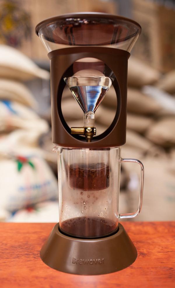 Brewover coffee brewer