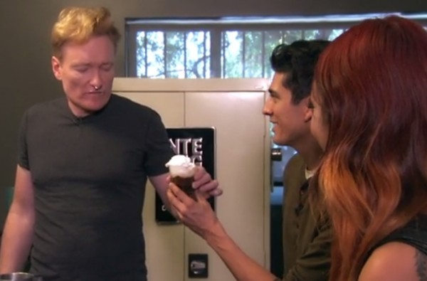 """I Degassed About Three Minutes Ago:"" Conan O'Brien Visits Intelligentsia L.A."