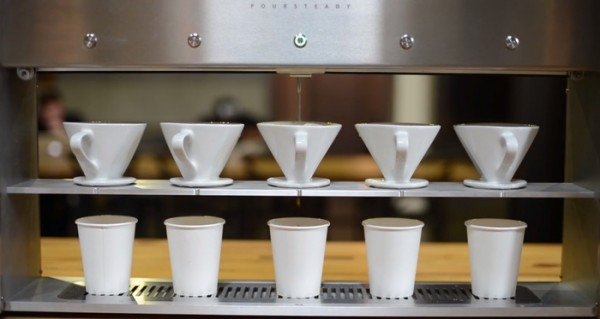 Poursteady Uses Robotics Technology for a Commercial Pourover Bar
