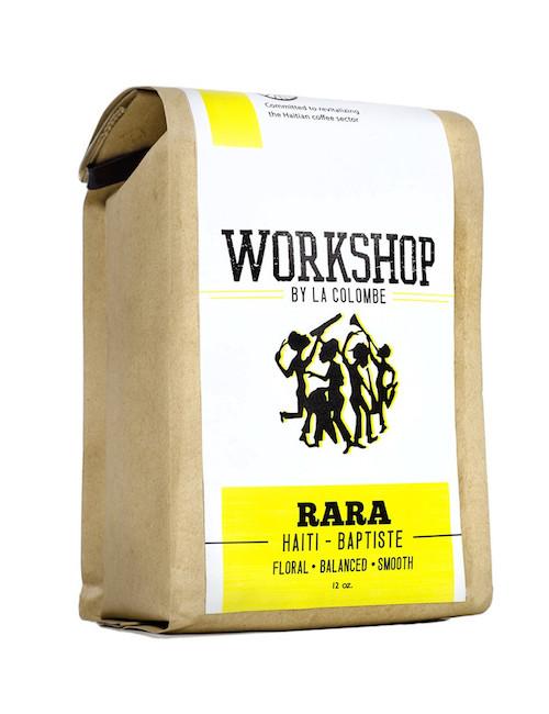 Haiti RaRa coffee from La Colombe