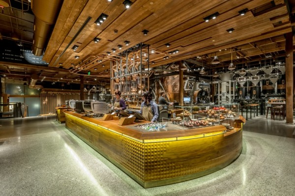 Starbucks' new Reserve roastery.