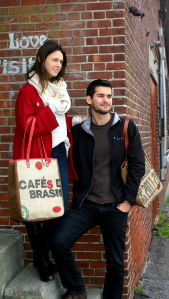 Farm to Fashion: Check Out These Designer Totes with Upcycled Coffee Sacks
