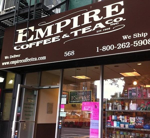 Empire coffee and tea new york