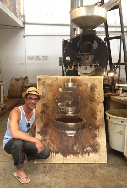 Exploring the Amazing Live Coffee Art of Fernando Mosca