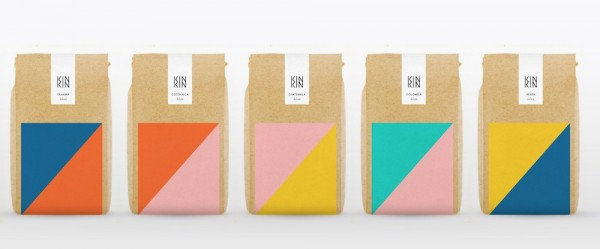 Bagged Kin-Kin coffees