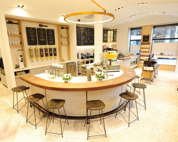 Canadian Chain Second Cup Unveils its High-End Market Concept in Toronto