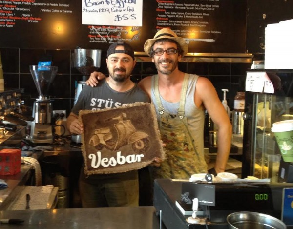 vesbar coffee sydney
