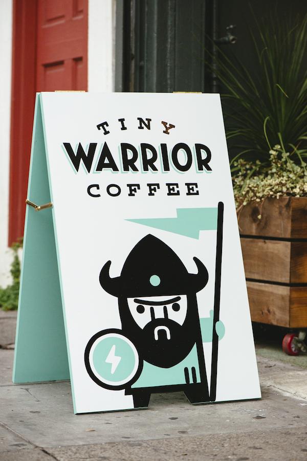 All photos courtesy of Tiny Warrior Coffee.