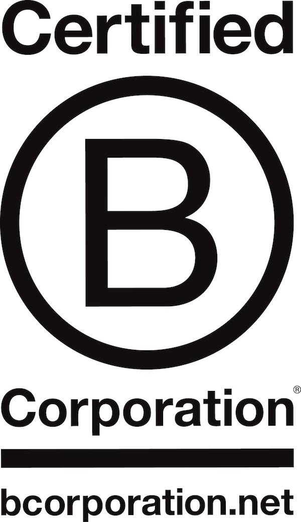 B corp logo large